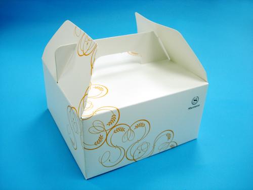 手提式式纸盒结构展开图